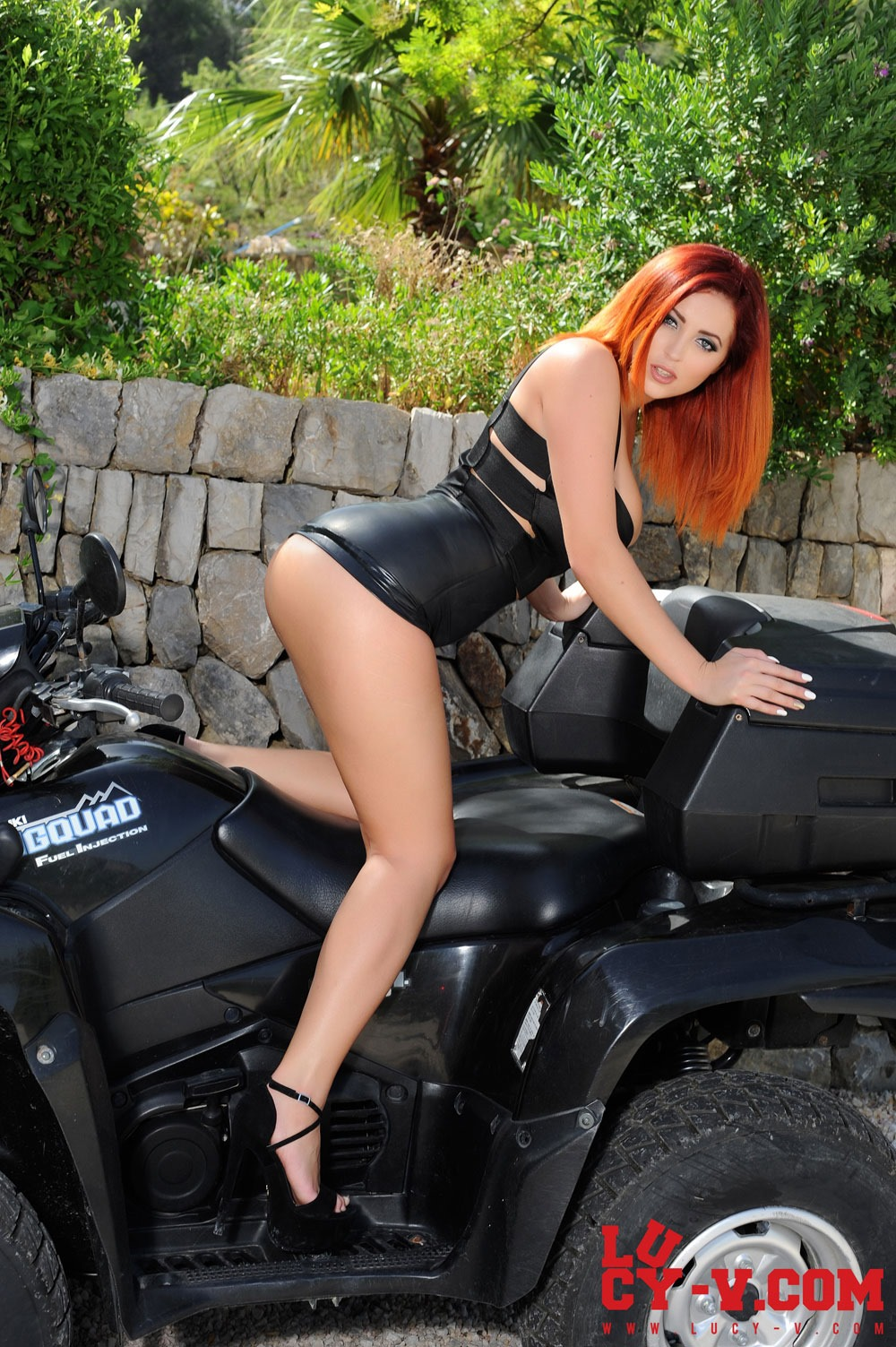 Hot Ginger Biker