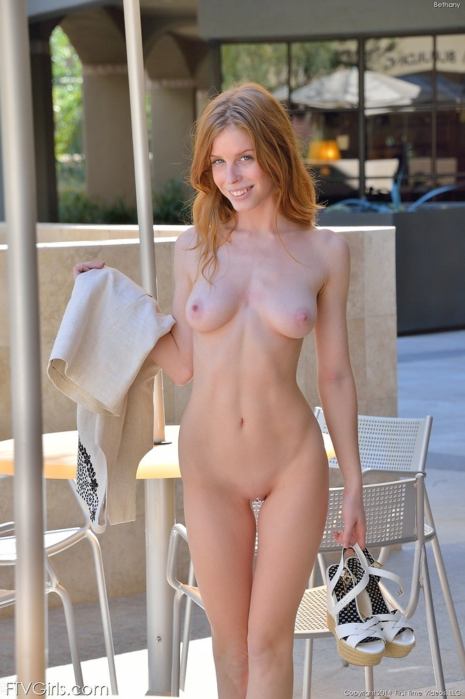 Sexy redhead chicks nude attentively