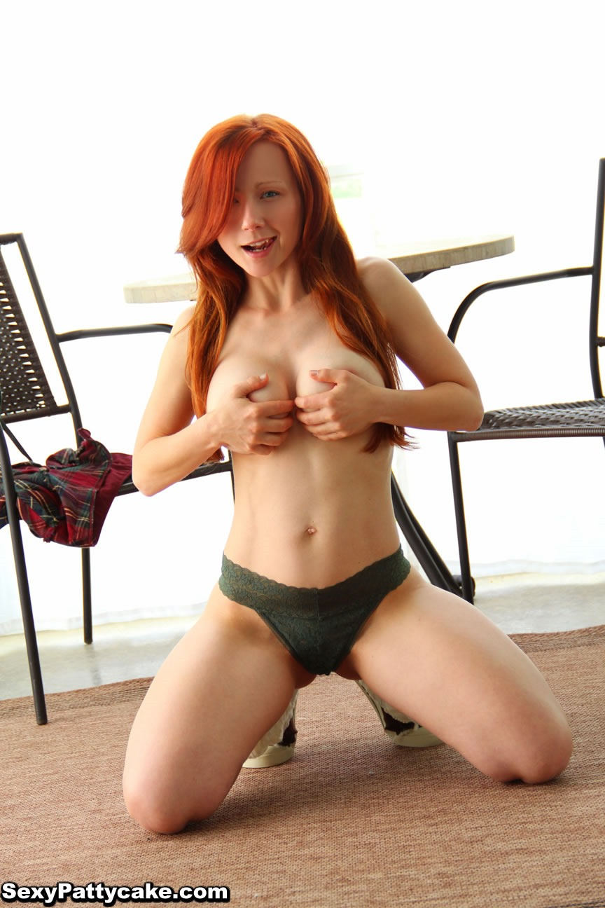 image Naughty redhead gives her construction worker a good fuck