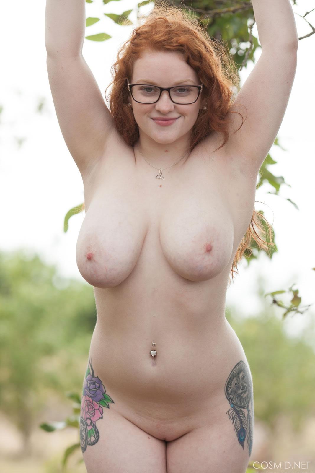 big red head tits