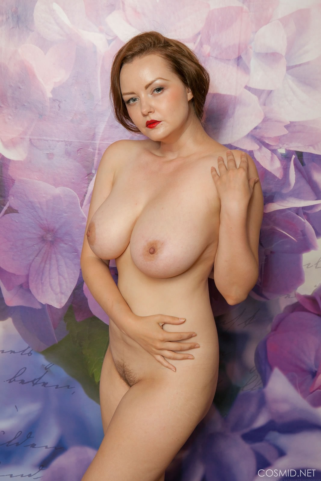 Magnificent Gorgeous redhead nude something is